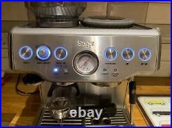 Sage barista express bean-to-cup coffee machine Please See Description
