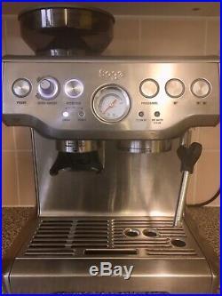 Sage by Heston Blumenthal barista express bean to cup espresso coffee machine