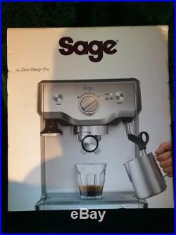 Sage the Duo Temp Pro Espresso Coffee Machine BES810BSSUK