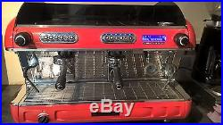 San Remo Verona SED 2 Group espresso machine (Red)