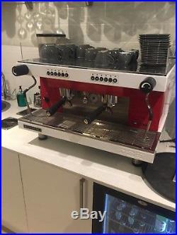 Sanremo Zoe 2 Group Espresso Machine Red/white RRP£3600 Mint Condition