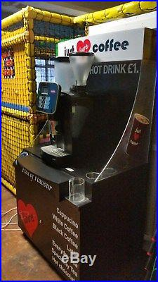 Schaerer Vito Commercial Coffee Espresso Hot Chocolate Bean To Cup Machine