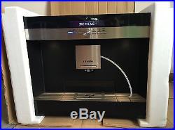 Siemens Coffee Espresso Machine Stainless TK76K572GB
