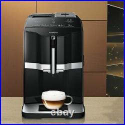 Siemens TI351209GB EQ. 300 Bean to Cup Coffee Machine 1500 Watt 15 bar Black