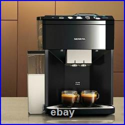 Siemens TQ505R09 EQ. 500 Bean to Cup Coffee Machine 1500 Watt 15 bar Black