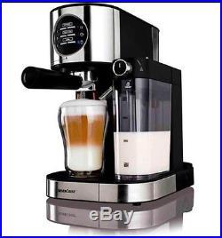 Silvercrest Brand New Espresso With Milk Frother Coffee Machine