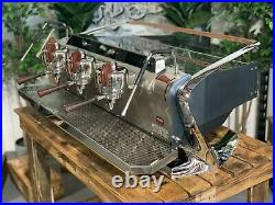 Slayer Steam X 3 Group Black Espresso Coffee Machine Commercial Cafe Barista Bar