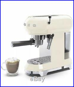 Smeg ECF01 Espresso Machine Cream