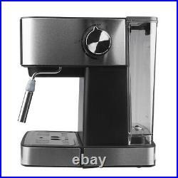 Stainless Steel 15 Bar Espresso Coffee Machine Coffee Maker Milk Frother