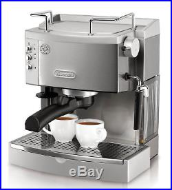 Stainless Steel Espresso Maker Commercial DeLonghi Home Electric Coffee Machine
