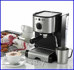 Sunbeam EM2800 Piccolo Espresso Coffee Machine + Italian designed 15 BAR Pump