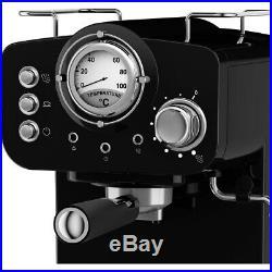Swan SK22110BLN Retro Espresso Coffee Machine 15 bar Blue New from AO