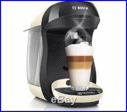TASSIMO by Bosch Happy TAS1007GB Coffee Machine Cream New Model