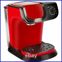 Tassimo by Bosch TAS6503GB My Way 2 Pod Coffee Machine 1500 Watt Red