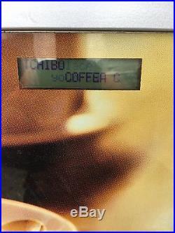 Tchibo Coffee Machine Bean to Cup Vending 8 Programme Late Espresso Chocolate