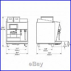 Thermoplan BW3-CTS Black & White 3 CTS-2 Automatic Espresso Machine Steam Wand