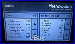 Thermoplan Black & White ONE Bean to Cup Coffee Espresso Machine BWone-CTM-RF