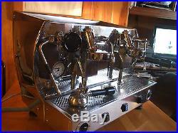 Traditional Commercial Espresso Coffee Machine La Nouva Era Altea Retro
