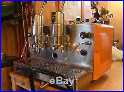 Traditional Commercial Espresso Coffee Machine Twin Lever Vintage Restored