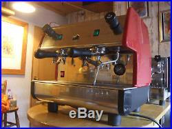 Traditional Commercial Pavoni Pub Espresso Coffee Machine 2 Group