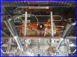 Traditional Lever Espresso Coffee Machine Faema Gaggia la marzocco mazzer conti