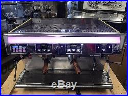Unic Espresso Coffee Machine Cafe Commercial 2 Group Cappuccino Dual Boiler Used