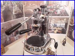 VINTAGE La Pavoni Professional PL-16 chrome espresso lever machine coffee
