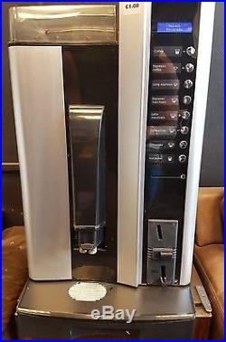 Vending Espresso Machine Coffee Creme Brilliance Hot Beverage Beans Grinder FAST