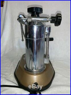 Vintage 1976 La Pavoni Europiccola Espresso Coffee Lever Machine Exc Condition