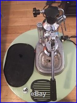 Vintage La Pavoni Europiccola Italian Coffee Espresso Machine Maker Chrome