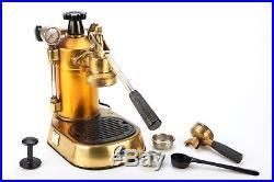 Vintage La Pavoni Professional Espresso Coffee Machine Copper & Brass