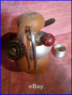 Vintage Retro Rare Atomic Brevetti Robbiati Milano Coffee Espresso Machine Cafe