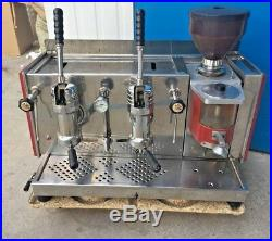 Vintage espresso lever machine handhebel kaffeemühle coffee grinder moulin