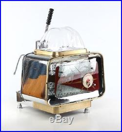 Vintage rare restored Faema Urania 1 group lever espresso coffee machine