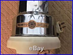 Vtg STELLA Brevettato ELECTRIC ESPRESSO MAKER ITALY Coffee Machine Brevettata
