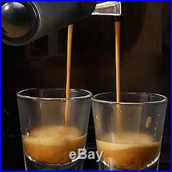 WISWELL Semi Automatic Coffee Maker DL-310 Barista Espresso Machine Milk Steamer