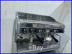 Wega 2 Group Automatic Commercial Coffee Espresso Machine Single Phase Tall Cup