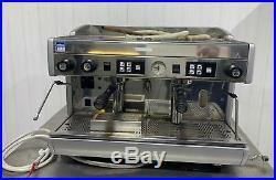 Wega 2 Group Espresso Coffee Machine Single Phase Electric 16amp Direct Water