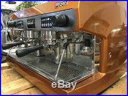Wega Polaris 2 Group Bronze Espresso Coffee Machine Commercial Cafe Barista Cup