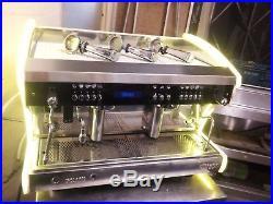 Wega Polaris 2 Group Espresso Machine, Coffee Machine, Sides Light Up