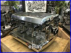 Wega Polaris 2 Group High Cup Chrome Espresso Coffee Machine Commercial Cafe