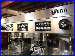 Wega Polaris 2 Group Red Espresso Coffee Machine Cafe Cheap Commercial Quality