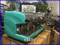 Wega Polaris 3 Group High Cup Aqua Espresso Coffee Machine Restaurant Cafe Latte