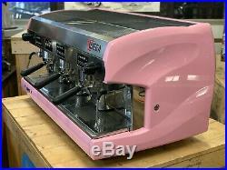 Wega Polaris 3 Group Pink Espresso Coffee Machine Commercial Cafe Bar Restaurant