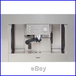 Whirlpool ACE010IX Built In Stainless Steel 1100w Coffee Espresso Machine NEW