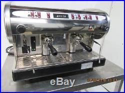 X Costa Marisa Espresso 2 Group Coffee Machine With New Portafilter Handles
