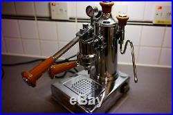 Zacconi Riviera Coffee Espresso Lever Machine not pavoni Wood parts